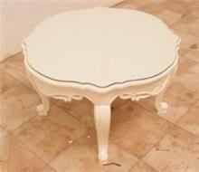 שולחן עגול קטן - Treemium - חלומות בעץ מלא