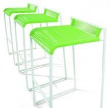 כסא בר ירוק