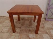 שולחן אוכל חום - Treemium - חלומות בעץ מלא