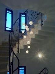מובייל פורצלן כדורים - ברק תאורה