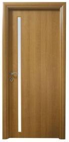 דלת בציפוי למינטו עגול, טנגניקה צוהר צד מאורך
