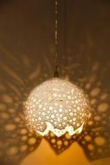 מנורת קרמיקה ונוס תליה