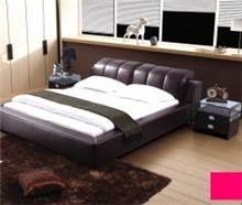 מיטה זוגית עשויה מעור - היבואנים