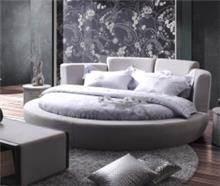 מיטת בד לבנה עגולה - היבואנים