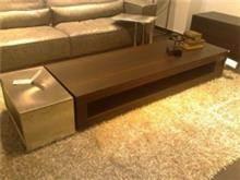 שולחן לסלון עם מגירה
