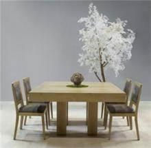 שולחן מרובע נפתח