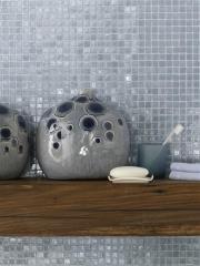 פסיפס אפור לאמבטיה