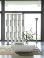 שולחן סלון לבן