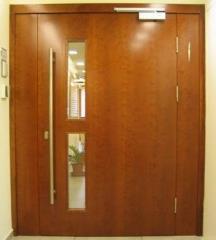 דלת כניסה עם צוהר