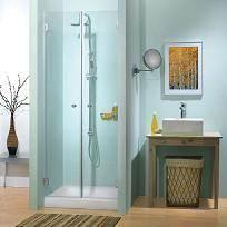 מקלחון חזיתי שתי דלתות