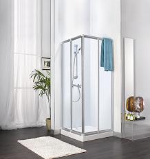 מקלחון הזזה פינתי