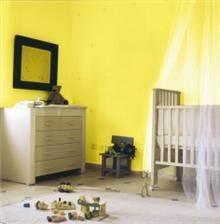 צבע טבעי לחדר תינוקות