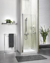 מקלחון חזיתי שקוף