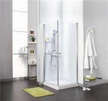 מקלחון פינתי שתי דלתות