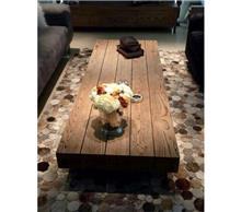 שולחן קפה עץ טבעי