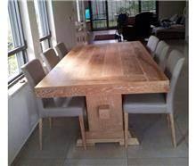 שולחן אוכל עץ מסיבי