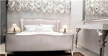 מיטה לבנה מהודרת
