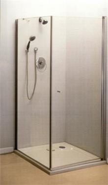 """מקלחון זכוכית מחוסמת 6 מ""""מ"""