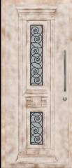 דלת כניסה מעוצבת לבית