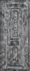 דלת מעוצבת לכניסת הבית בסגנון עתיק