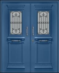 דלת כפולה במראה יווני