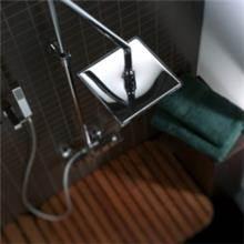 ראש מקלחת מרובע - חלמיש