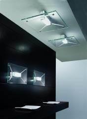 מנורת לינאה זכוכית מעוצבת