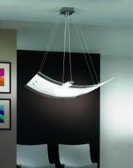 מנורת זכוכית מרחפת