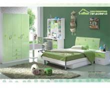 חדר ילדים ירוק לבן - היבואנים