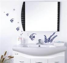 מדבקת קיר דגים לאמבטיה