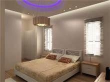 שיפוץ חדר הורים עם תאורה מיוחדת