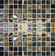 פסיפס זכוכית צבעים משתנים