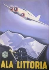 ציור שמן שדה התעופה איטליה