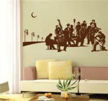 מדבקת קיר תזמורת לילה
