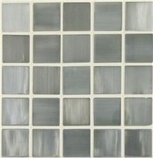 פסיפס אפור מזכוכית - חלמיש