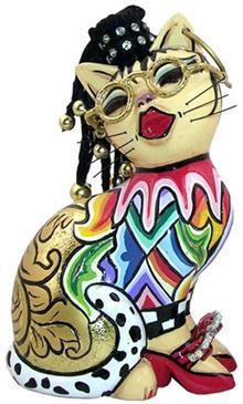 פסלון חתולה קטנה - חלמיש
