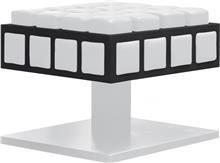 הדום מרובע לבן - חלמיש