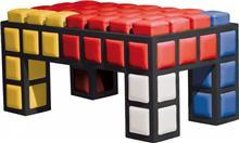 ספסל צבעוני - חלמיש