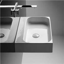 כיור מונח אמבטיה - חלמיש