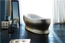 אמבטיה בציפוי זהב - חלמיש