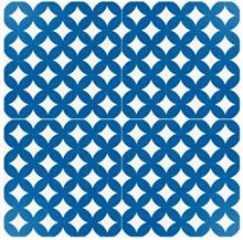 אריחי ריצוף כחול לבן - חלמיש
