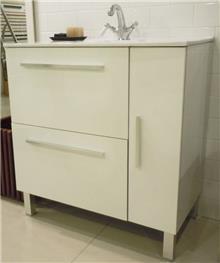 ארון אמבטיה עם כיור - חלמיש