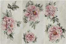 טפט פרח ורוד 2301005-3 - חלמיש
