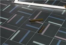 פורצלן גאומטרי פסים -דגם 1012276 - חלמיש