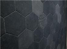 אריח פרוצלן משושה דגם 1002385 - חלמיש