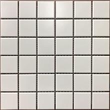 אריח פסיפס לבן דגם 1002090 - חלמיש