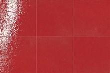 פורצלן ענתיקה אדום מבריק - חלמיש