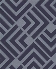 טפט גאומטרי כחול רויאל - גולדשטיין גלרי טפט