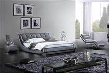 מיטת עור זוגית לחדרי שינה - היבואנים