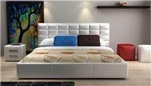 מיטה זוגית לבנה - היבואנים